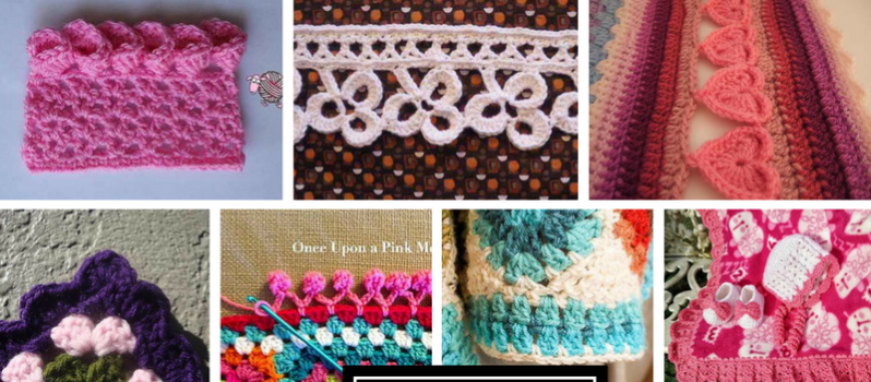 Crochet Edging Patterns [free pattern] 20 beautiful free crochet edging patterns vrsxtxy